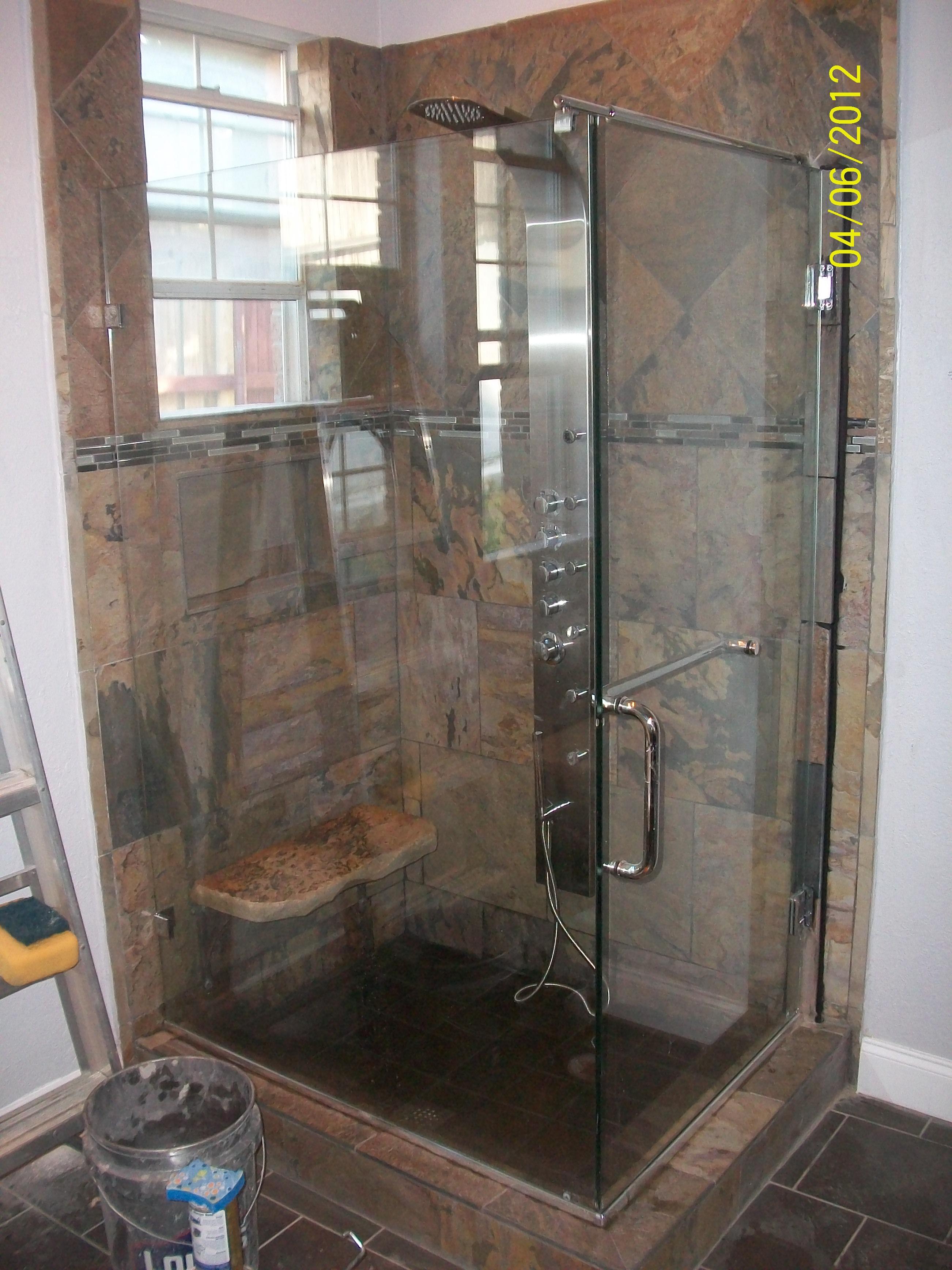 Glass Doors Shower Crab Remodeling